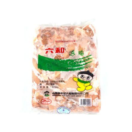 六和7080去皮汉堡鸡腿肉(乐亭产地) 1.875kg/袋 6袋/箱