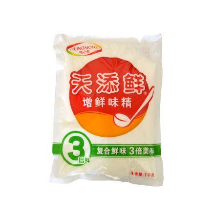 味之素 天添鲜 增鲜味精调味料 1kg/袋10袋/箱