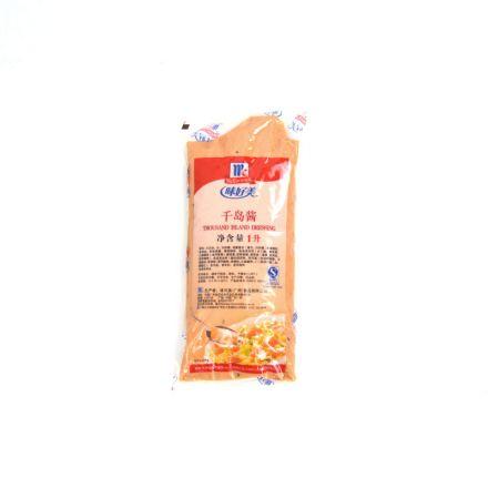 味好美 千岛酱沙拉酱 1kg/袋 12袋/箱