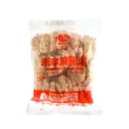 禾丰 香辣鸡腿堡 2.5kg/袋 4袋/箱
