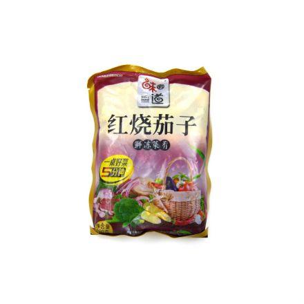 断货中-味有道 红烧茄子调理包 260g/份 10份/包  6包/箱